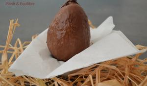 Oeuf de Condor en chocolat pour Pâques
