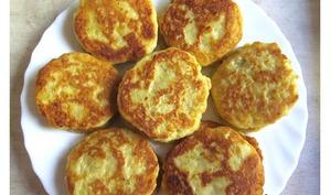 Blinis de pommes de terre cuites