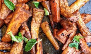 Poêlé épicée carottes et panais