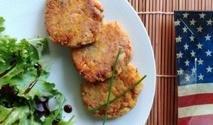 Crab cakes comme aux USA