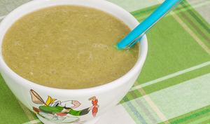 Soupe de fenouils aux poireaux
