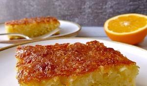 Portokalopita ou gâteau grec à l'orange