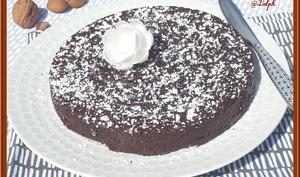 Fondant chocolat pralin sans lactose, sans gluten