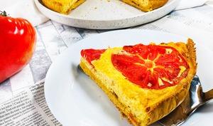 Quiche à la tomate sans gluten