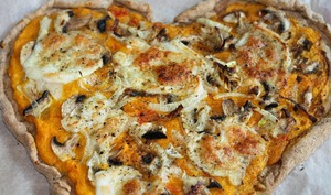 Pizza potimarron