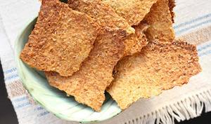 Crackers de blé germé