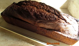 Cake au yaourt, marbré au Nutella