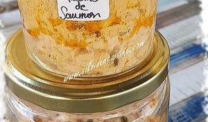 Conserves de Rillettes de Saumon