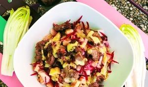 Salade d'endives au poulet