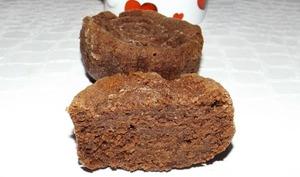 Financiers au chocolat façon brownies
