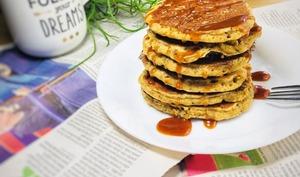 Pancakes avoine chia