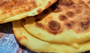 Cheese Naans ou Naan au fromage