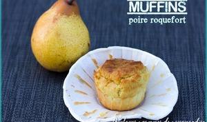 Muffins poire-roquefort