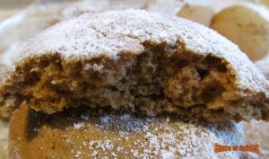 Cookies moelleux à la compote de pommes et à la cannelle
