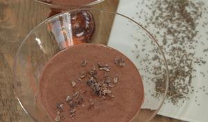 Crème de chocolat et graines de chia