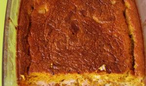 Clafoutis saumon patate douce