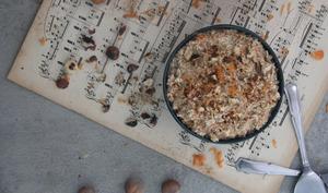 Porridge express façon carrot cake