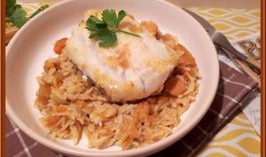 Cari de poisson aux patates douces