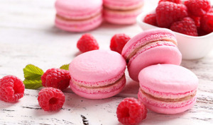 Macaron fraise au thermomix