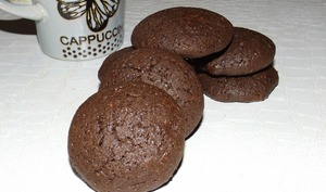 Cookies triple chocolat au sarrasin