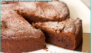 Gâteau au chocolat craquant