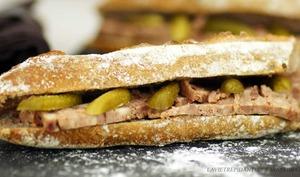sandwich pâté de campagne cornichon