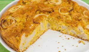 Gâteau de chou fleur d'Ottolenghi