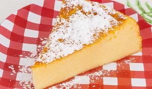 Migliaccio, gâteau de semoule à la ricotta italien