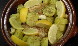 Poulet au citron à la grecque
