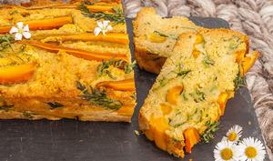 Cake salé aux carottes bottes