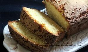 Cake à la pâte d'amandes