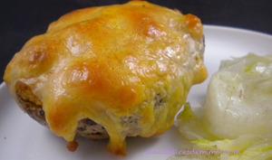 Pommes de terre farcies avec un reste de raclette