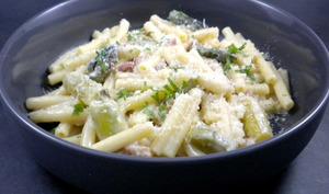 Pâtes aux asperges et au parmesan