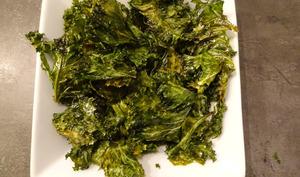 Chips de chou kale