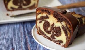 Cake Marbré Enrobé