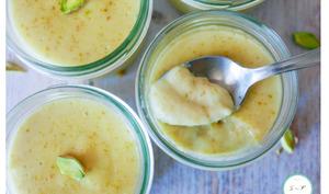 Crème dessert à la pistache