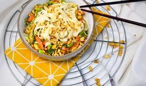 Pad thaï express aux légumes