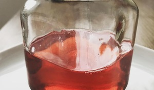Sirop fraise menthe