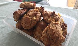 Cookies Vegan aux pommes et cannelle