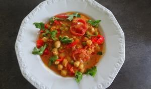 Curry de pois chiches végétarien