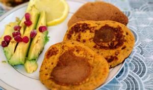 Pancakes légers de patate douce
