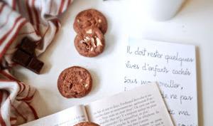 Sablés aux 3 chocolats à la fleur de sel