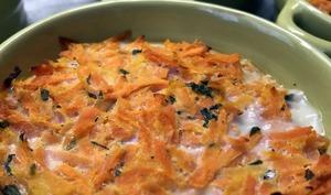 Petits flans de carotte