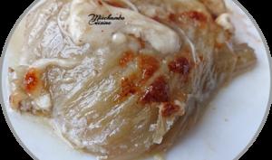 Fenouil braisé sauce parmesan