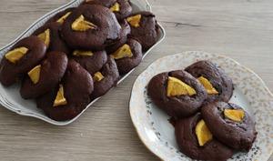 Cookies tout choc à l'orange