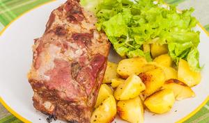 Travers de porc, cuisson basse température