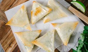 Samoussas végétariens aux légumes et épices indiennes