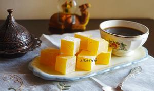 Loukoum turc au jus de citron naturel