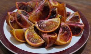 Oranges sanguines façon Djef-S'hour