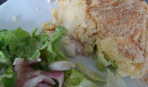 Gratin de pommes de terre à la mozzarella